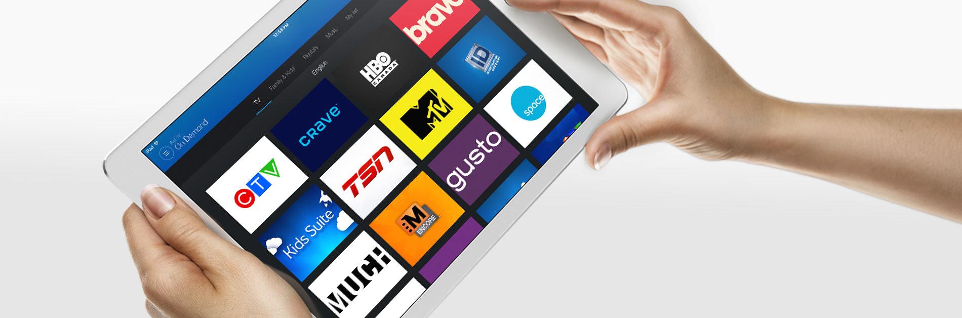 Fibe TV app | Fibe TV | Bell Aliant