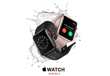 Trade in your current Apple Watch and get a minimum $200 towards a new one.