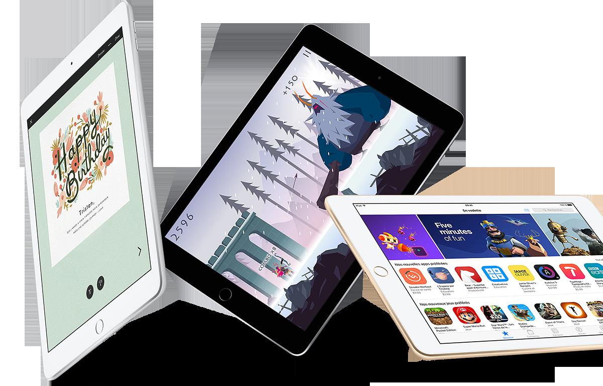 Ipad 9 7 2017 bell mobilit pour entreprises for Application miroir pour ipad